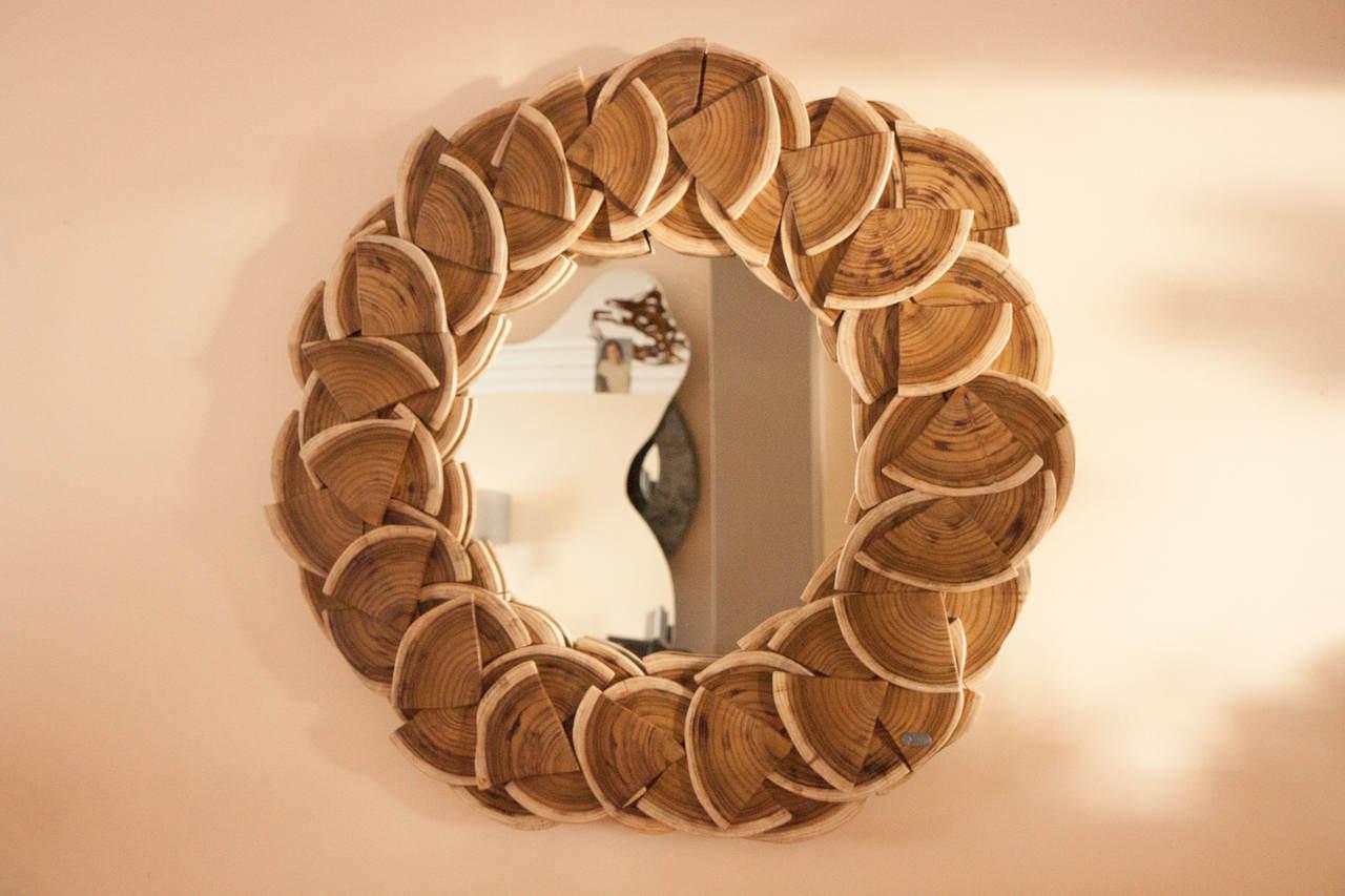 Espelho em Madeira | bromeliaV