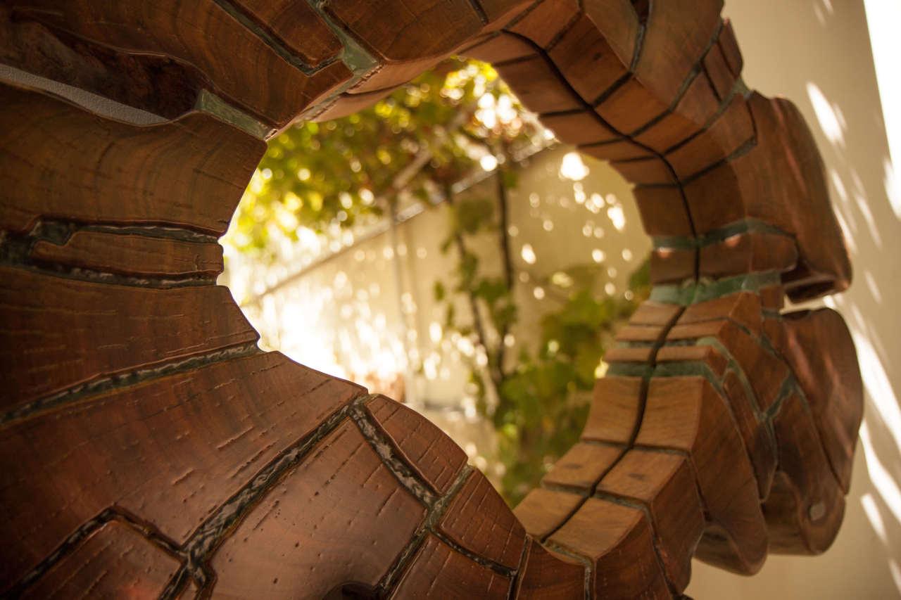 Espelho em Madeira e Resina | singulariI