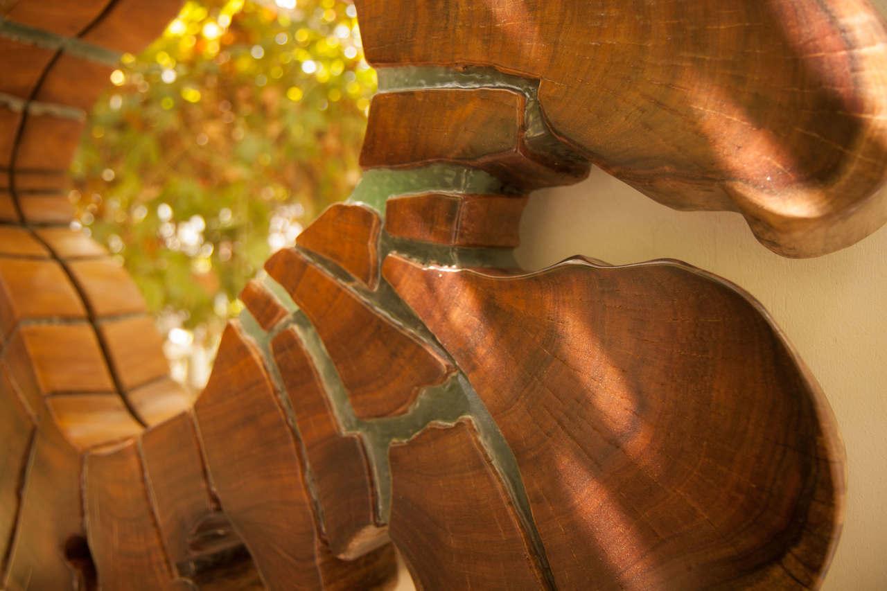 Wood and Resin Mirror | singulariI