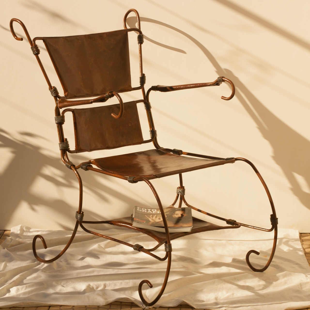 Cadeira em Ferro | classical