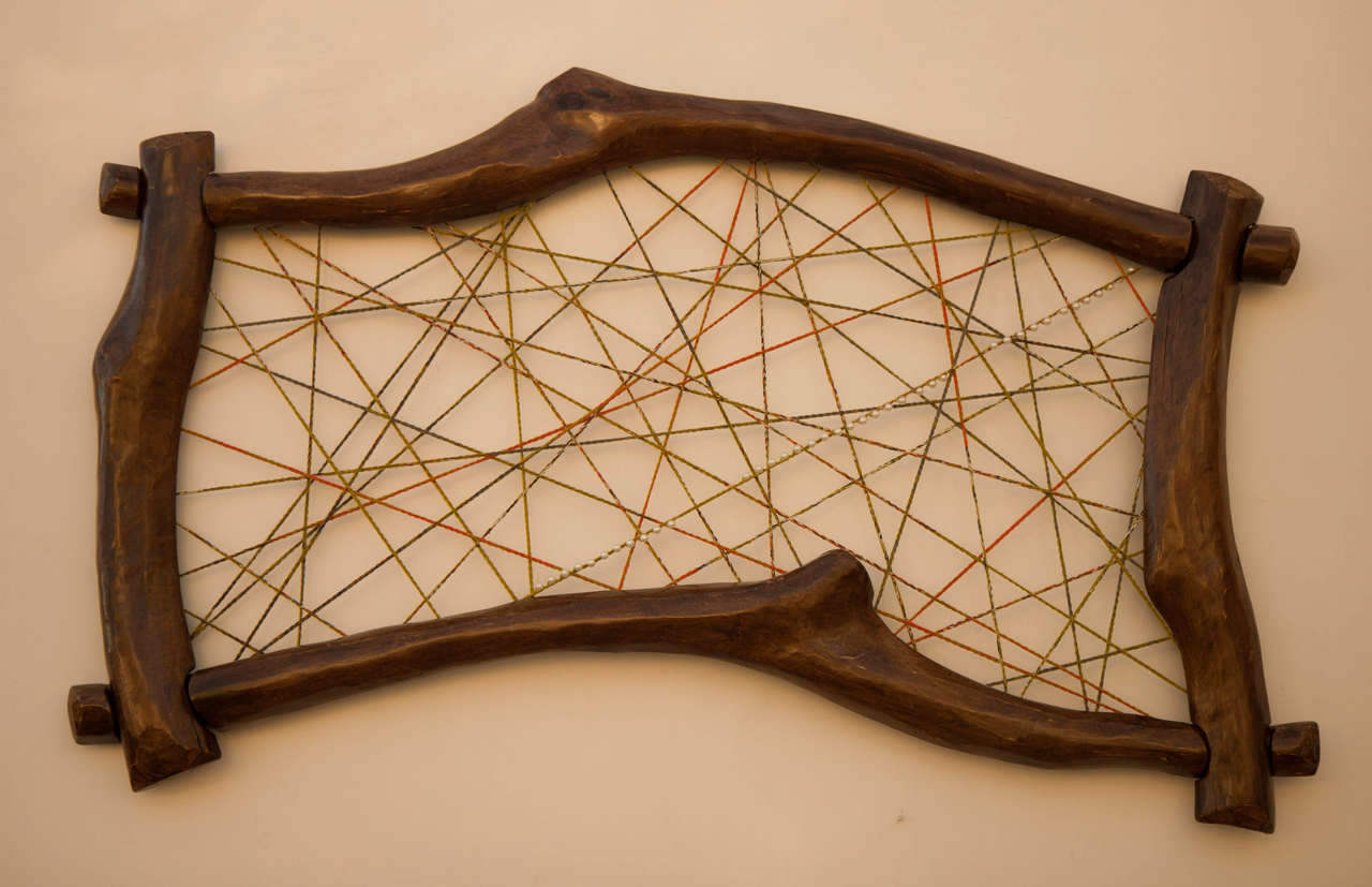 Quadro Decorativo com croché | margaritislineae